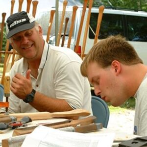 WELCOME TO MAKING TRADITIONALLY SHAPED CANOE AND GREENLAND KAYAK PADDLES WITH CALEB DAVIS