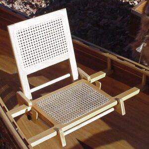 Ash Caned Seat & Back Set